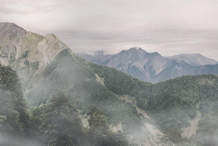 Туман в Фотошоп