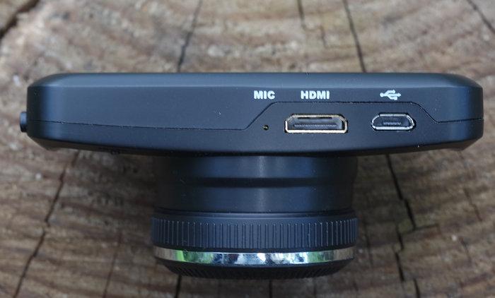Pantera-HD Ambarella A7 GPS снизу