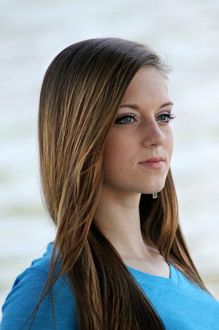 придать блеск волосам в Фотошоп