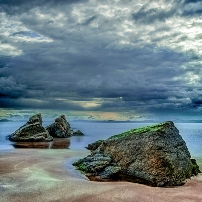 Замена неба на фотографии