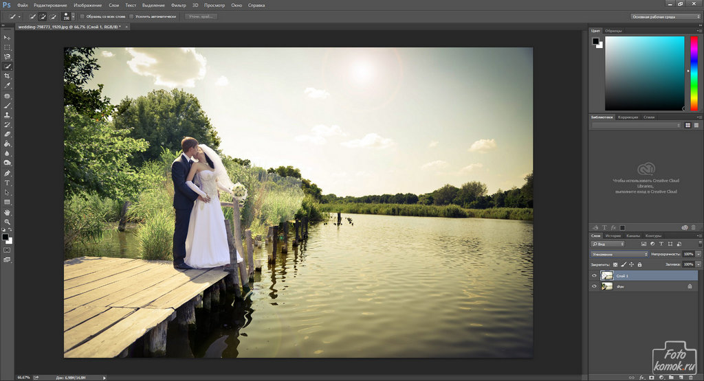 Обработка свадебной фотографии-03