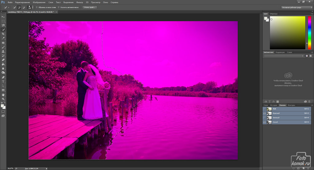 Обработка свадебной фотографии-05