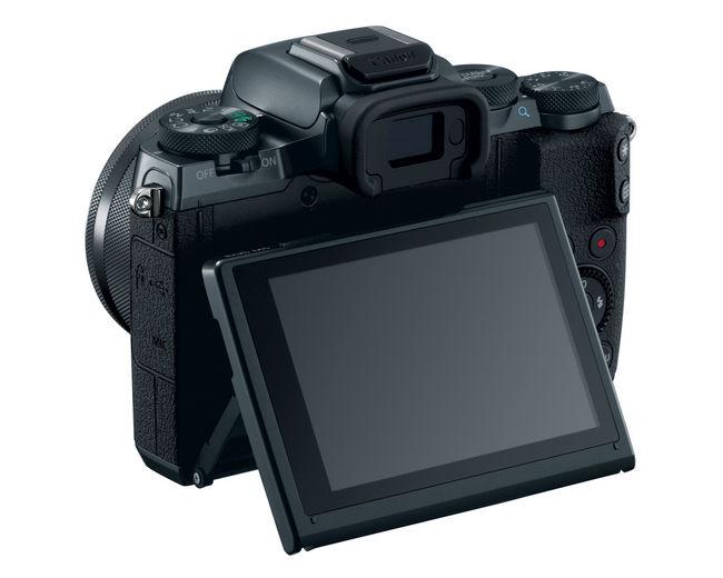 Canon EOS M5 backopen