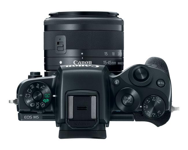 Canon EOS M5 top
