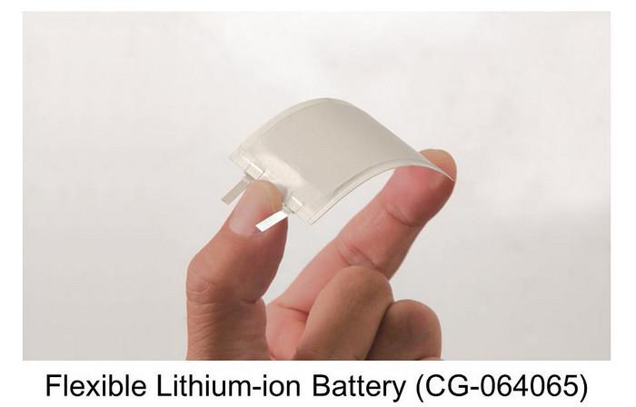 гибкий литий-ионный аккумулятор