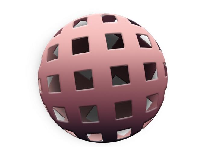 Имитация трехмерного шара