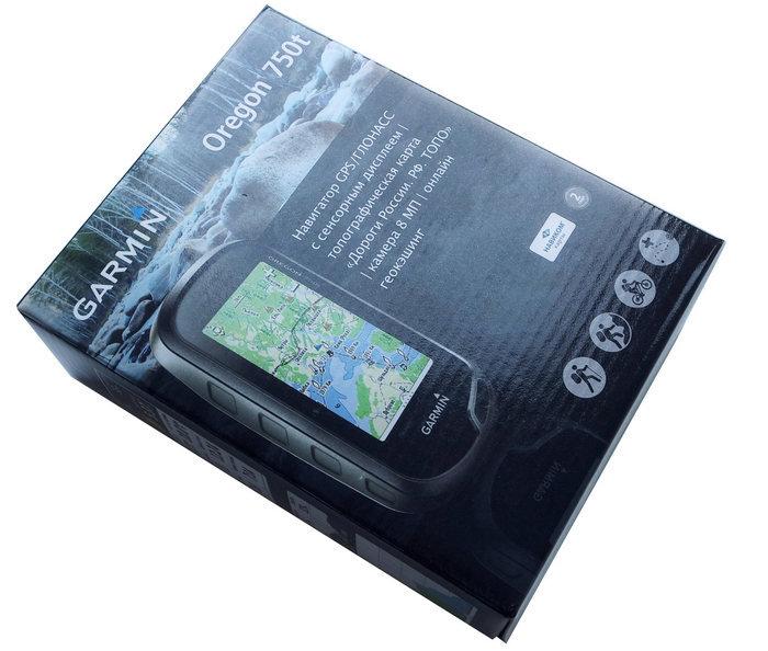 Внешний вид Garmin 750t