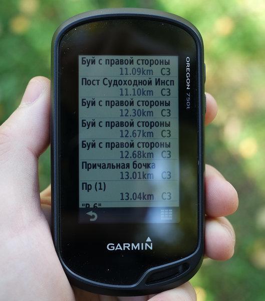 Обзор туристического навигатора Garmin Oregon 750t