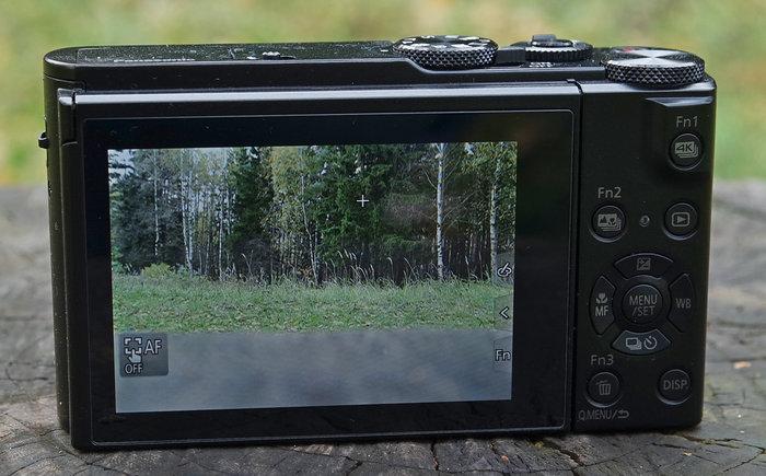 Panasonic DMC-LX15 дисплей