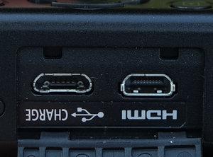 Panasonic DMC-LX15 разъемы