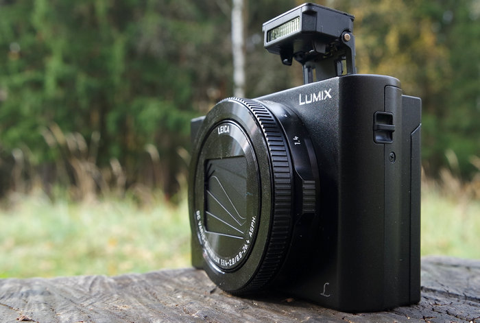 Panasonic DMC-LX15 вспышка