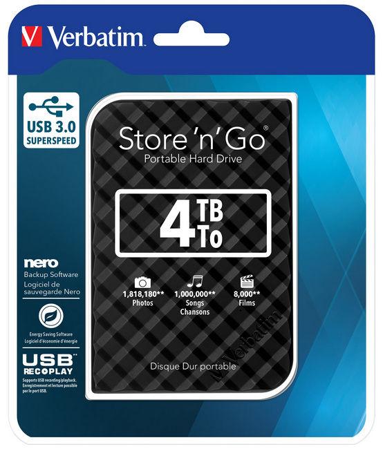 Verbatim Store 'n' Go 4ТБ