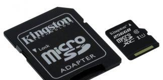 Kingston microSDHC/ microSDXC Class 10 UHS-I 256 ГБ