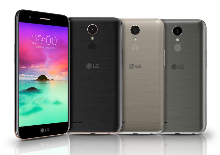 Четыре новинки LG K-серии и смартфон Stylus 3 на CES 2017