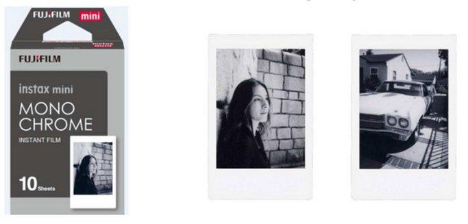 Новые цвета пленки для фотокарточек формата Instax mini