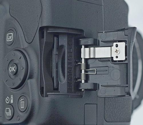 Nikon D3400-card