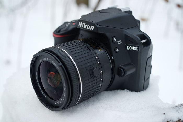 Nikon D3400-s