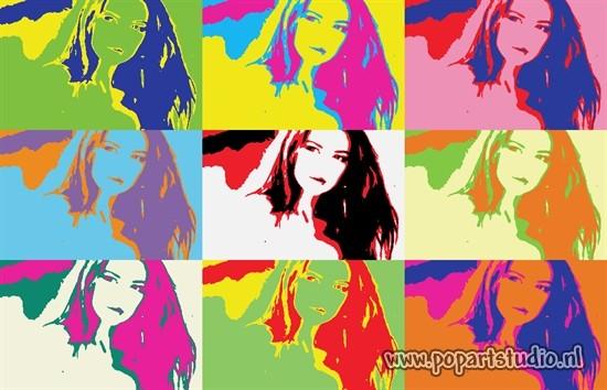 Яркие фотографии в стиле поп-арт