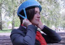 EcoHelmet - одноразовый велошлем