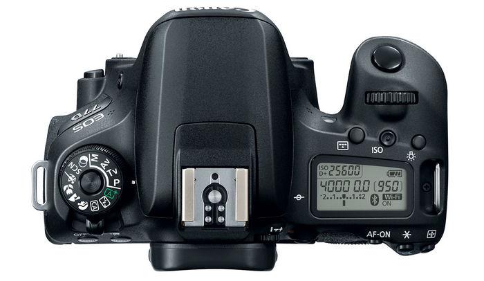 Canon EOS 77D TOP