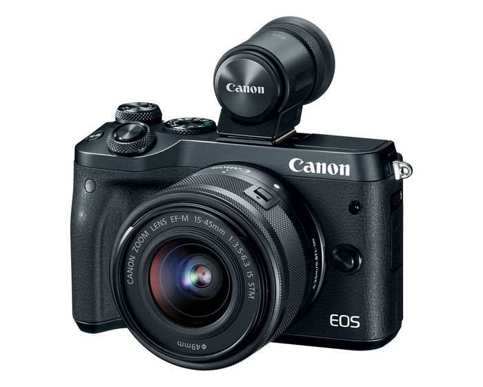 Canon EOS M6 + EVF