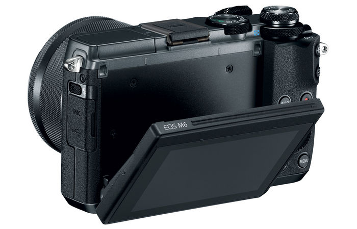 Canon EOS M6 back side
