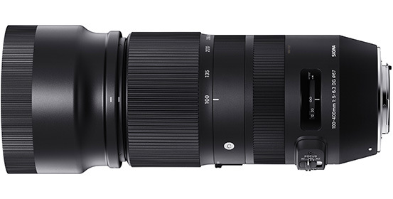 Sigma 100-400mm F5-6.3 DG HSM OS Contemporary