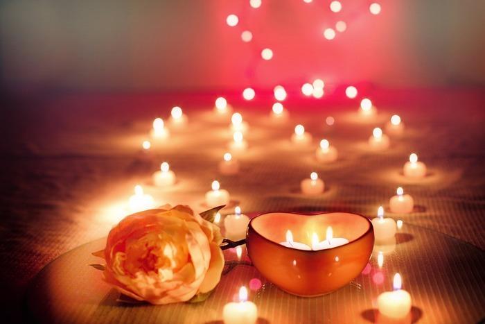 Валентинка - свечи