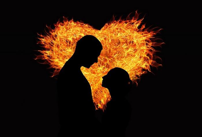Валентинка- профиль влюбленных