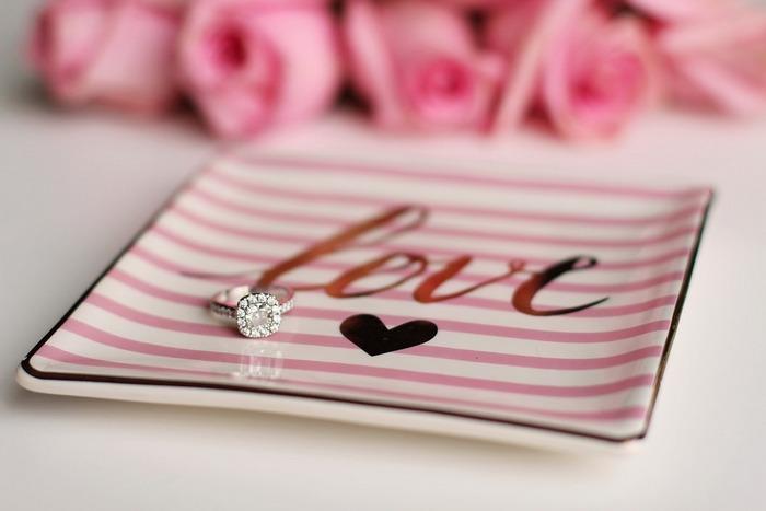 Валентинка - кольцо