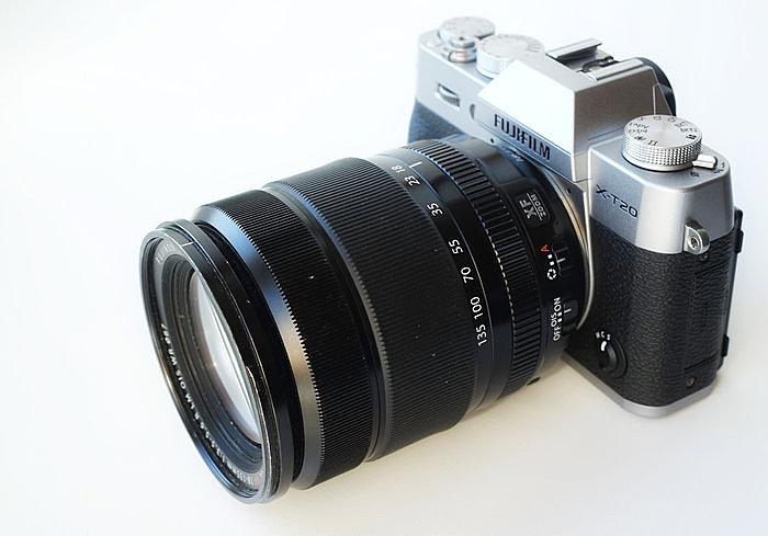 FUJINON XF 18-135 мм F3.5-5.6 R LM OIS WR + Fujifilm X-T20