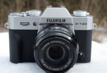 Fujinon XF35mm f/2 R WR с X-T20