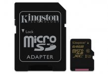 Kingston Gold microSD UHS-I Speed Class 3 (U3)