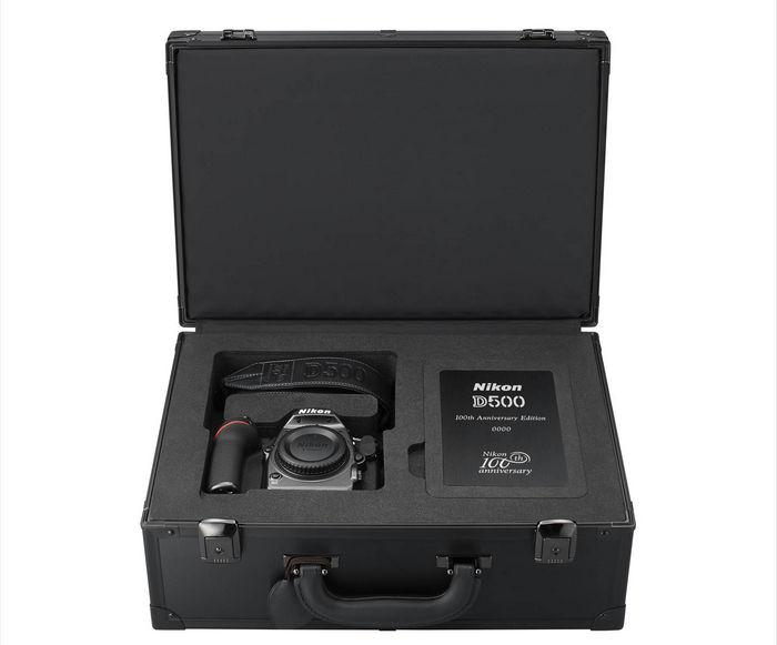 Nikon D500 юбилейная кейс