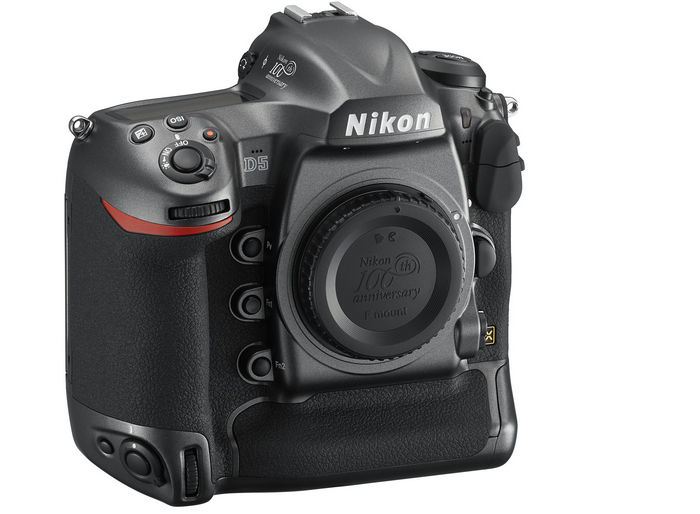 Nikon D5 face