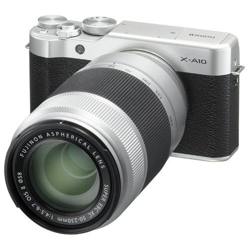Обновление прошивки для фотокамер Fujifilm X-A10 и X-A3