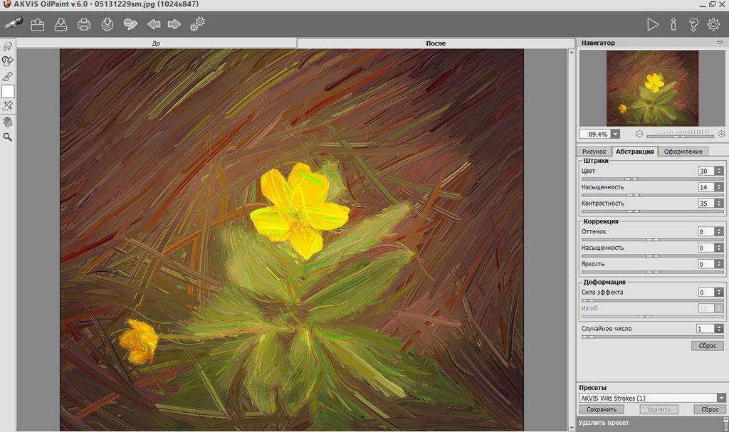 AKVIS OilPaint - живопись и абстракция из фото