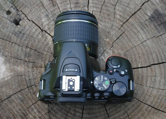 Nikon D5600 сверху