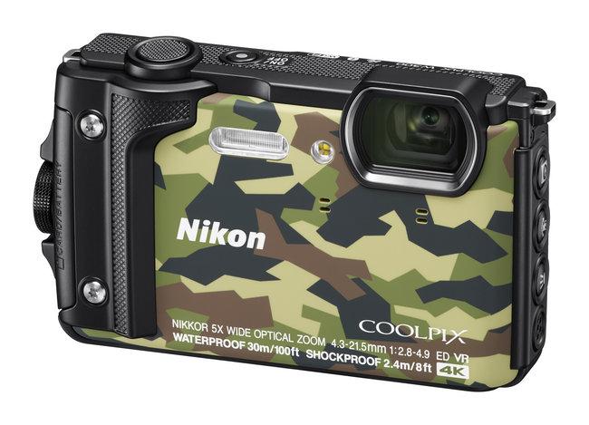 Nikon W300 side
