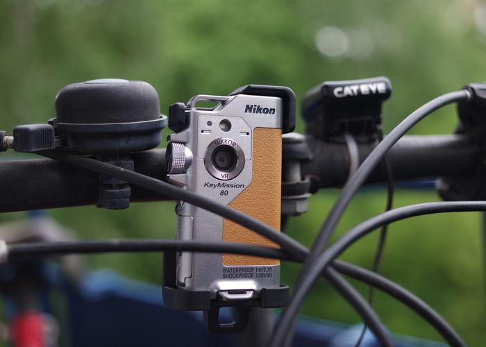 Nikon KeyMission 80 - крепление на велосипед