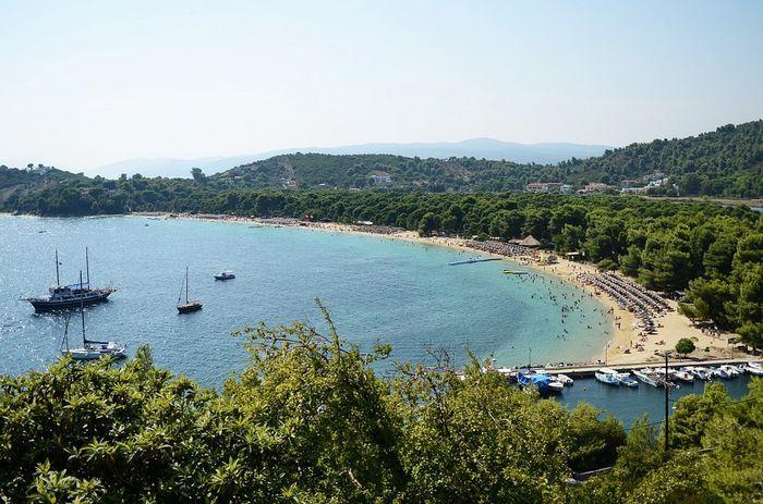 пляжи Скиатоса