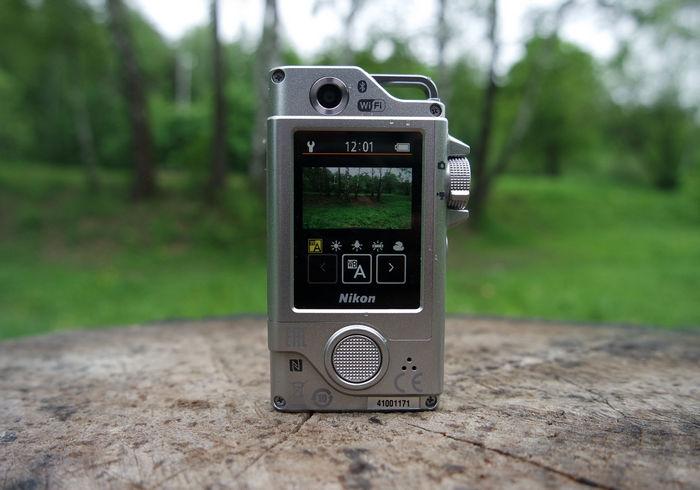 Nikon KeyMission 80 дисплей