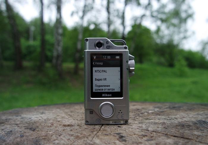 Nikon KeyMission 80 меню 1