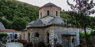 Монастырь Евангелистрии, Скиатос