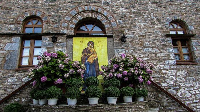 Монастырь Евангелистрии, остров Скиатос