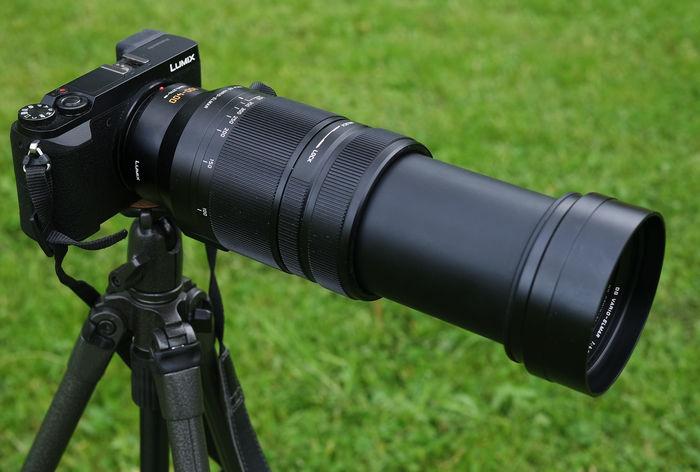 Panasonic Leica DG Vario-Elmar 100-400 mm F4.0-6.3 ASPH. 800 мм