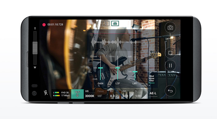LG Q8 - настройки