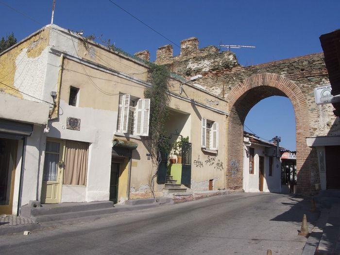 Историческая часть, Салоники