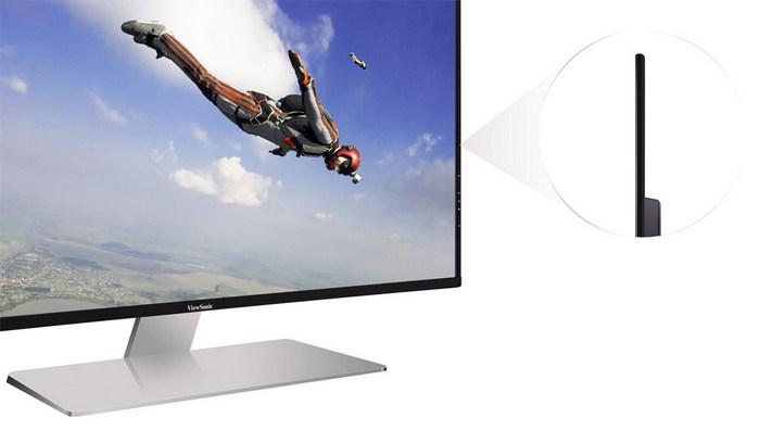 ViewSonic VX4380-4K сбоку