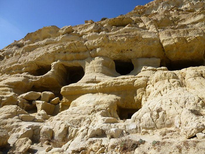 Пещеры, Матала